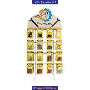 استند محصولات نویان پارس شامل 16 نوع محصول و 160 بسته