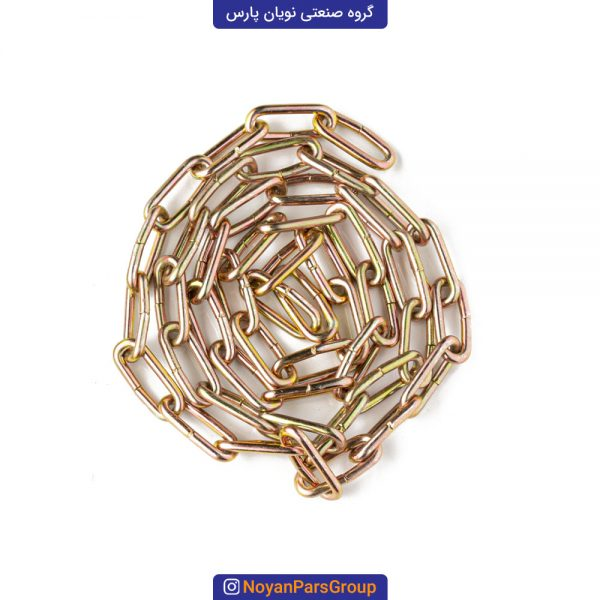زنجیر لوستر سایز 3 یک متری طلایی