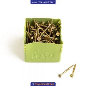 پیچ چوب سایز 2 در 10 بسته 144 عددی نویان پارس