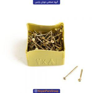پیچ چوب سایز 2 در 8 بسته 144 عددی نویان پارس
