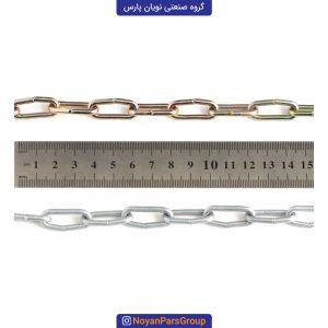 زنجیر 10 متری سایز 3 دانه ریز نویان پارس