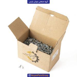 پیچ سرمته تخت سایز 16 بسته 1500 عددی نویان پارس